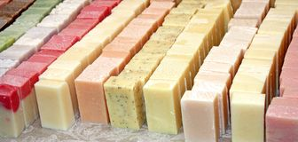 Free Bars Of Soap. Stock Image - 20022701