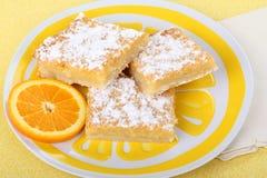 Bars oranges Image libre de droits
