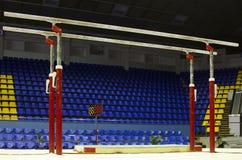 Bars parallèles gymnastiques Images libres de droits