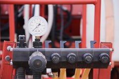 Bars pressure sensor Stock Images