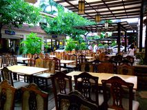 Bars and restaurant in Eastwood City Royalty Free Stock Photography
