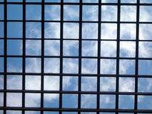 bars skyen Royaltyfri Fotografi