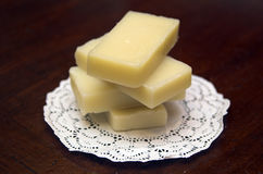 Bars of Soap. A small stack of hand made soap Stock Photography