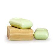 Bars of soap Royalty Free Stock Images