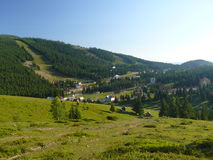 Barsa village in Romania Royalty Free Stock Images