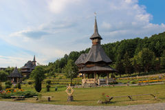 Barsana修道院 图库摄影