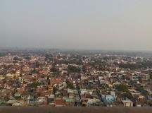 Barsana-Ansicht vom Tempel Lizenzfreies Stockfoto