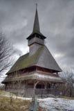 Barsana Church. Barsana Wooden Church in Maramures Region, Romania stock images