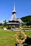 Barsana Kirche Stockbild