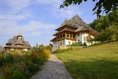 Barsana kloster Arkivbild