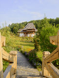 Barsana Kloster Lizenzfreies Stockfoto