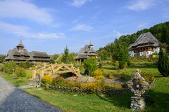 Barsana kloster Royaltyfri Foto