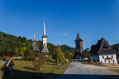 Barsana kloster 4 Royaltyfria Foton
