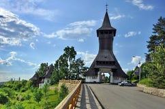 Barsana-Klosterkomplex in Maramures Lizenzfreies Stockfoto
