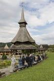 Barsana Monastary in Romania Royalty Free Stock Image