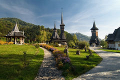barsana monaster Romania Zdjęcia Stock