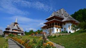 Barsana Monaster, Rumunia fotografia royalty free