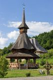 Barsana Monastery. One of the main attractions in Maramures, Romania Stock Photo