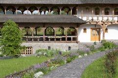 Barsana Monastery. Photo taken in Romania Maramures Royalty Free Stock Photo