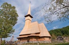 Barsana Monastery. One of the main tourist attractions in Maramures, Romania royalty free stock photography