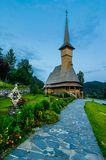 Barsana monastery complex in Maramures Royalty Free Stock Photo