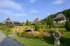 Barsana Monastery. Garden of Barsana Monastery, Maramures/ Romania Royalty Free Stock Photo