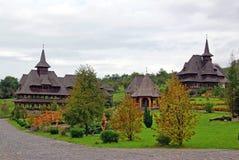 Barsana monastery landscape royalty free stock photography
