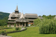 The Barsana Monastery (Maramures, Romania) Stock Photography