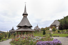 Barsana Monastery, Maramures, Romania Royalty Free Stock Photography