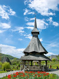 Barsana Monastery in Romania Royalty Free Stock Photos