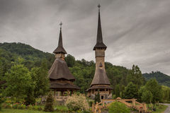 Barsana Monastery Romania Stock Image