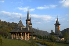 Barsana monastery - Romania Royalty Free Stock Photos