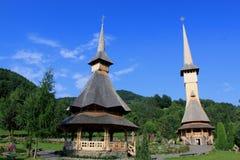 Barsana monastery Royalty Free Stock Images