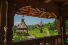 Barsana Temple in Maramures Royalty Free Stock Photo