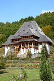Barsana Wodden Kloster Stockfoto