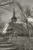 Barsana Wooden Church. In Maramures region, Romania Royalty Free Stock Photo