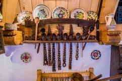 Barsana wooden monastery, Maramures, Romania. Royalty Free Stock Images