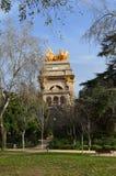 Barselona, Spain. The park in Barselona, Spain Stock Photos