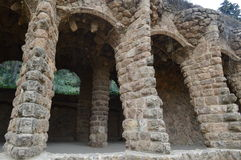 Barselona, Spain. Park Guell in Barselona, Spain Royalty Free Stock Images