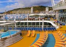 Barselona, Spaine - 6 Σεπτεμβρίου, 2015: Βασιλικός καραϊβικός διεθνής, γοητεία των θαλασσών στοκ φωτογραφίες