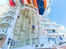 Barselona Spaine, Wrzesień, - 12, 2015: Królewski Karaiby, urok morza Obrazy Stock