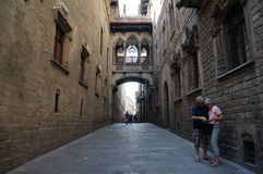 Barselona. View of the Barcelona. Spain Stock Images