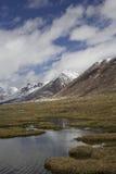 Barskoon valley in Kyrgyzstan, Tien Shan mountains Stock Photos