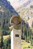 Barskoon wąwóz Issyk Kula region Kirgistan, Sierpień, - 24, 2016: Obraz Royalty Free