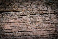 Barst bruin hout Royalty-vrije Stock Fotografie
