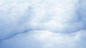 Barst in de sneeuw stock afbeeldingen