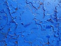 Barst en schade op geschilderde textuur stock fotografie
