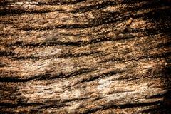 Barst op het doorstane bruine hout Royalty-vrije Stock Afbeeldingen