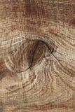 Barst op het oude hout voor patroon Stock Afbeelding
