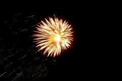 Barstend Vuurwerk Stock Afbeeldingen